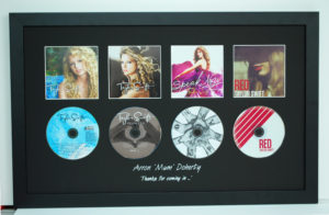 CD and case memorabilia